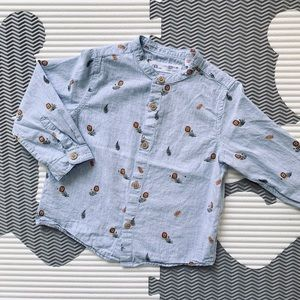 Zara Baby Button Down Shirt